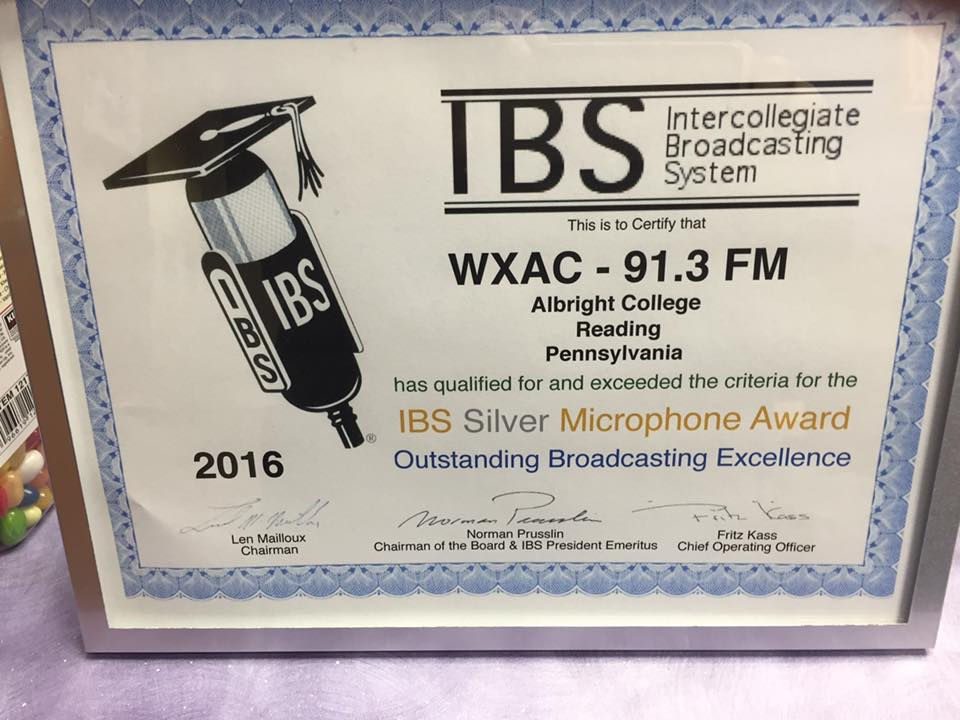 Intercollegiate Broadcasting System Award